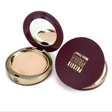 Makeup Face Beauty Pressed Powder Compact Brightening Contour Foundation Puff