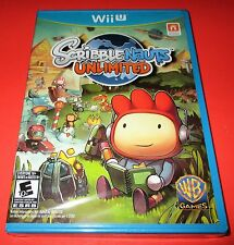 Scribblenauts Unlimited Nintendo Wii U *Factory Sealed! *Free Shipping!