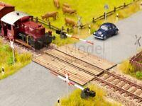 NOCH 14305 - Attraversamento in legno per passaggio a livello. Scala H0 LASER CU