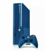 Microsoft Xbox 360 E Special Edition Blue Bundle 500 GB Console & 3 Games (Used)