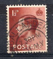 Gb = 1936 E8 Postmark - `Callander` Double Ring, Sg459. Fine Used.
