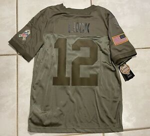 NWT NIKE Indianapolis Colts Andrew Luck SALUTE TO SERVICE NFL Jersey Men Mediu