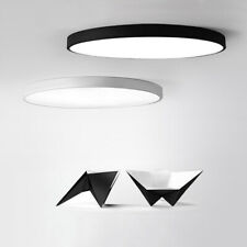 12-48W Round LED Flush Mount Ceiling Lights Lamp 50mm Thin White/Warm/Neutral D