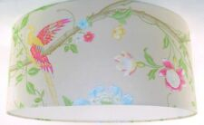 45cm Lampshade Handmade with Laura Ashley Summer Palace Linen Wallpaper