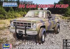 Revell Monogram 7226 1978 GMC Big Game Country Offroad Pickup Model Kit 1/24