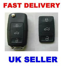 VW POLO GOLF PASSAT 3 BUTTON REMOTE KEY FOB RUBBER PAD (WILL ONLY FIT <2007 MODE