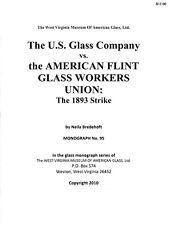 US Glass Co. vs. AFGWU - story of the 1893 strike