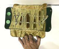 VTG/Antique celluloid Bakelite nails manicure set Travel Vanity MCM Art Deco kit