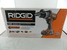 "RIDGID R86116 18V 1/2""(13MM)Cordless Hammer Drill Kit w/(2)Batteries,Charger,Bag"
