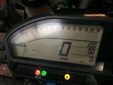 Honda CBR1000RR fireblade SPEEDO CLOCKS INSTRUMENT ABS OEM BREAKING 08-16 KMH