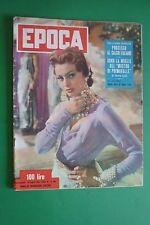 EPOCA 196/1954 SOFIA LOREN SALAMANCA SPAGNA PROCESSO CALCIO ITALY GLORIA SWANSON