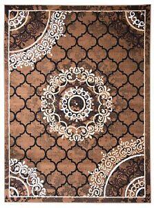 3 x 5 Ft Golden Solid Modern Rectangular Carpet Of Polypropylene For Home Decor