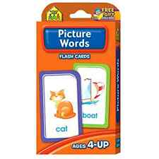Alphabet Picture Flash Cards Baby First Words Learning Child Card Letters