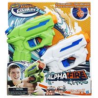New NERF Super Soaker ALPHAFIRE Blaster ~ Mini Water Pistol ALPHA FIRE 2 Pack