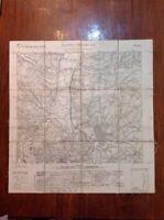 Carta Castel Giubileo Roma 1925 Telata Istituto Geografico Militare