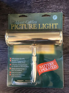 Advent Cordless Picture Light Battery Operated NIP