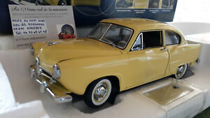 KAISER HENRY J. 1951 jaune au 1/18 SUN STAR 5091 voiture miniature de collection