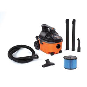 RIDGID Wet Dry Vacuum Blower 4 Gallon Port Portable Cleaner Vac 5.0 Peak HP
