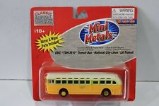 MINI METALS 1:87/HO SCALE GMC TDH-3610 TRANSIT BUS NATIONAL CITY LINES LA TRANS