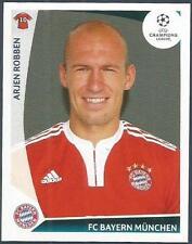 PANINI UEFA CHAMPIONS LEAGUE 2009-10- #017-BAYERN MUNICH-ARJEN ROBBEN