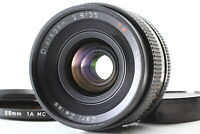 【 Near MINT 】 CONTAX Carl Zeiss Distagon T*  35mm f2.8  MMJ Lens  MF  from JAPAN