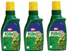 Lot Of 3 KILLEX Lawn Weed Dandelion Killer Concentrate 1L Herbicide