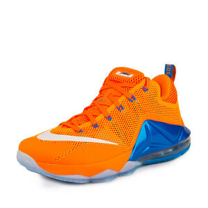 Size 8 Men's Nike Lebron James Athletic Basketball Sneakers 724557 838 Citrus