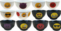 Emoticon Cereal Bowls. Stoneware Soup Bowls with Emoji. Express your feelings