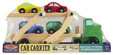 Melissa & Doug Wooden Car Carrier Truck