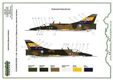 Model Maker Decals 1/48 DASSAULT MIRAGE III Argentine Air Force Farewell Schemes
