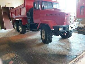 Tamiya 1/14 KRAZ 6x6 with dump trailer RC Tractor Truck