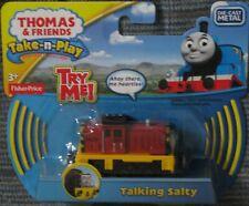 NEW Thomas & Friends Take N Play Talking SALTY diecast metal Free Ship !