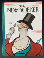 COVER ONLY ~ The New Yorker Magazine, February 19, 1979 ~ Rea Irvin