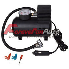 300 PSI 12V Car Auto Portable Pump Tire Inflator Mini Air Compressor W/Gauge