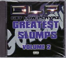 GET LOW PLAYAZ/GREATEST SLUMPS VOL. 2 CD [SAN QUINN/MAC MALL/JT THE BIGGA FIGGA]