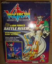 VOLTRON DEFENDER OF THE UNIVERSE LION FORCE BATTLE RISER LJN TOYS LTD./ALES 1984