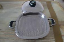AMC NEU OVP ARONDO-Grillpfanne-Griddle Deckel mit visiotherm 1,6 liter 28 cm