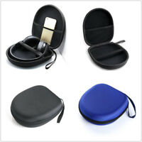 For Sony MDR-XB650BT Hard Zippered Carrying Headphone Case Storage Bag Pouch Box