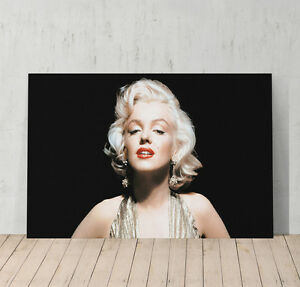 Marilyn Monroe Canvas Print Poster Decorative Picture Wall Art Decor