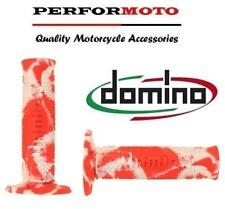 Domino Snake Camo Grips White / Red Yamaha WR250