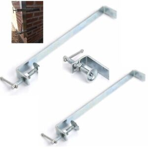 BRICKLAYERS Profile Clamp 300mm X 2 pcs Brickies Pro Clamps Zinc Plated Steel