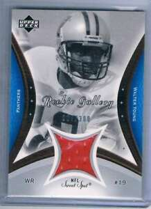 2003 Sweet Spot Rookie Gallery Jersey #RGWY Walter Young NM-MT nm-mt MEM /300 Pa