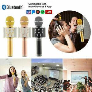 Children Microphone Bluetooth Mic Karaoke Singing Kids Music Fun Toys Gifts UK
