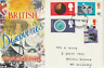 19 SEPT 1967 BRITISH DISCOVERIES CONNOISSEUR FIRST DAY COVER BIRMINGHAM FDI