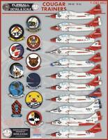 Furball 1/48 decals F9F-8T & TF-9Js Cougar Trainers FDS4802