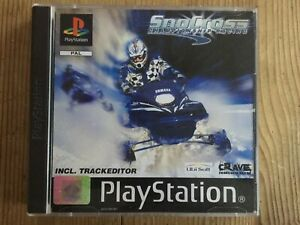 Snocross Championship Racing PS1 - Very Good Cond & COMPLETE.
