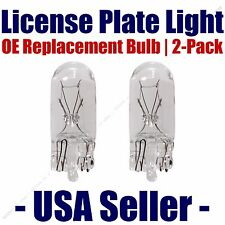 License Plate Bulb 2pk OE Replacement Fits - Listed Toyota Vehicles - 194