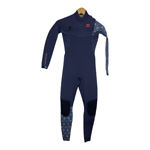 Billabong Womens Full Wetsuit Size 0 (XS) Furnace Carbon 4/3 Teen/Girls - $399