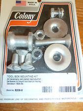 teardrop tool box'hard ware mounting kit new for harley davidson and customs