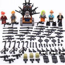 6pcs/lot Military Survival Throne Building Blocks Bricks Figures Models Toys